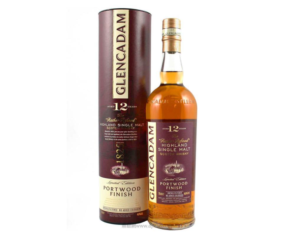 格蘭卡登12年波特桶單一麥芽威士忌