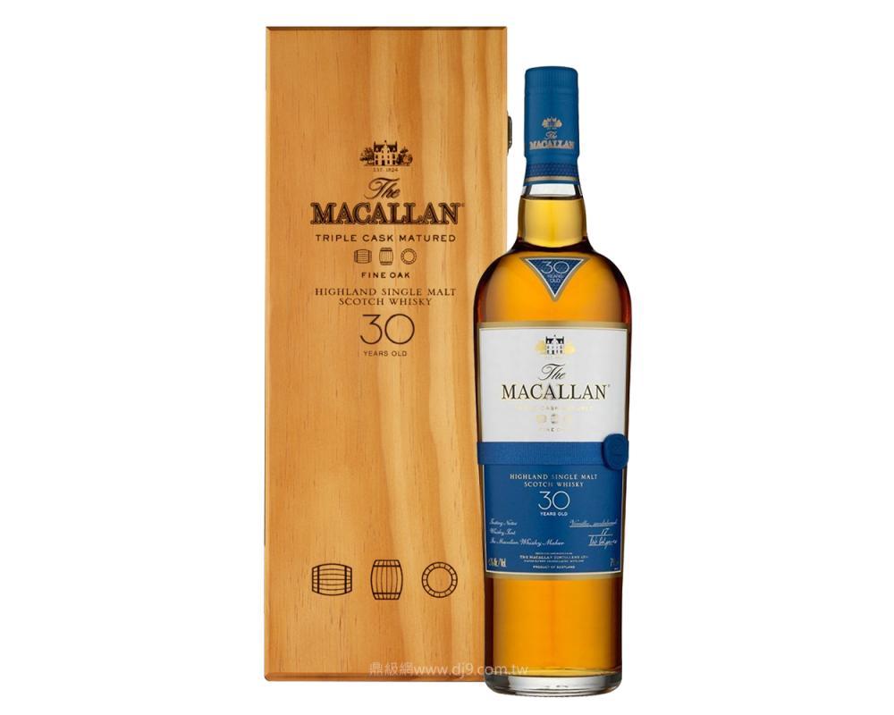 麥卡倫黃金三桶30年單一麥芽威士忌