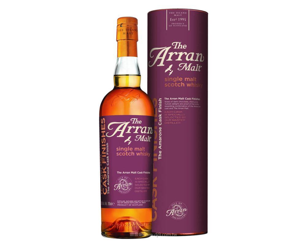 愛倫阿馬龍紅酒桶裝單一麥芽威士忌