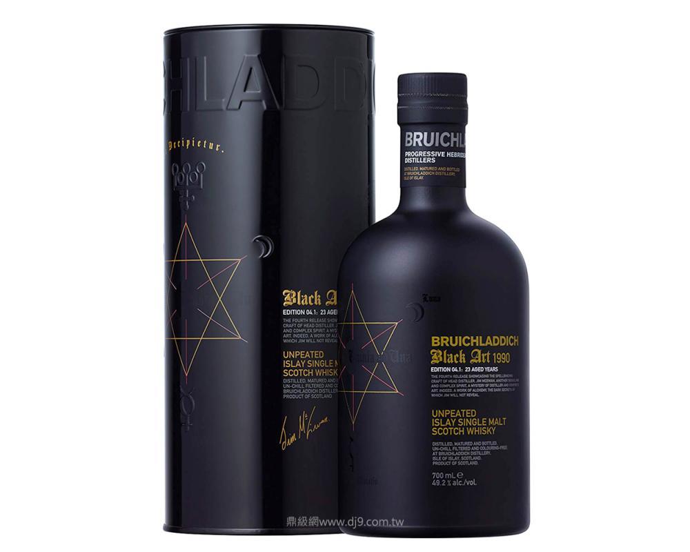 布萊迪 黑色藝術第04.1版(1990蒸餾\2013裝瓶)