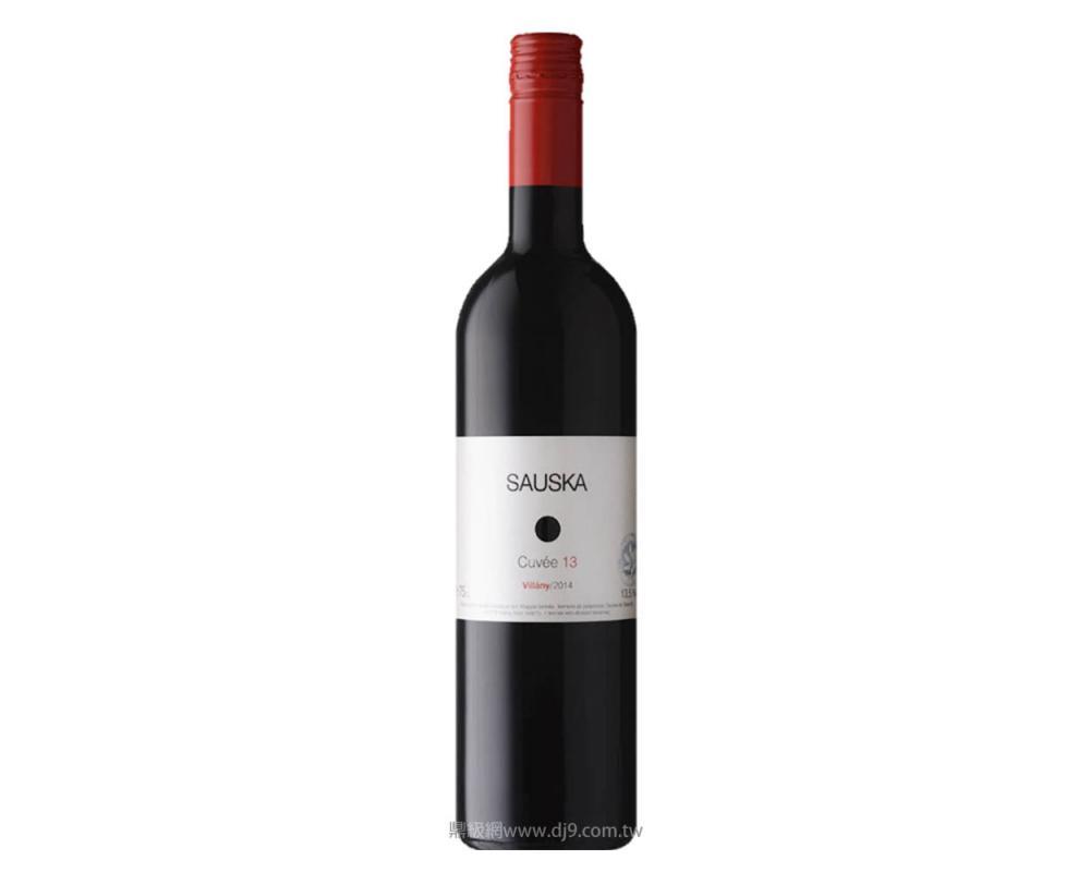 薩司卡經典13號紅酒2014