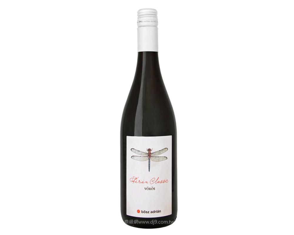 波司亞德里安經典紅酒2015