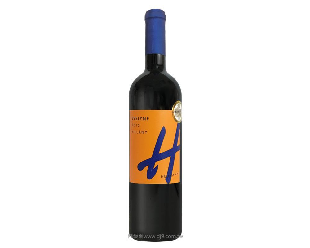 休曼艾芙琳紅酒2012