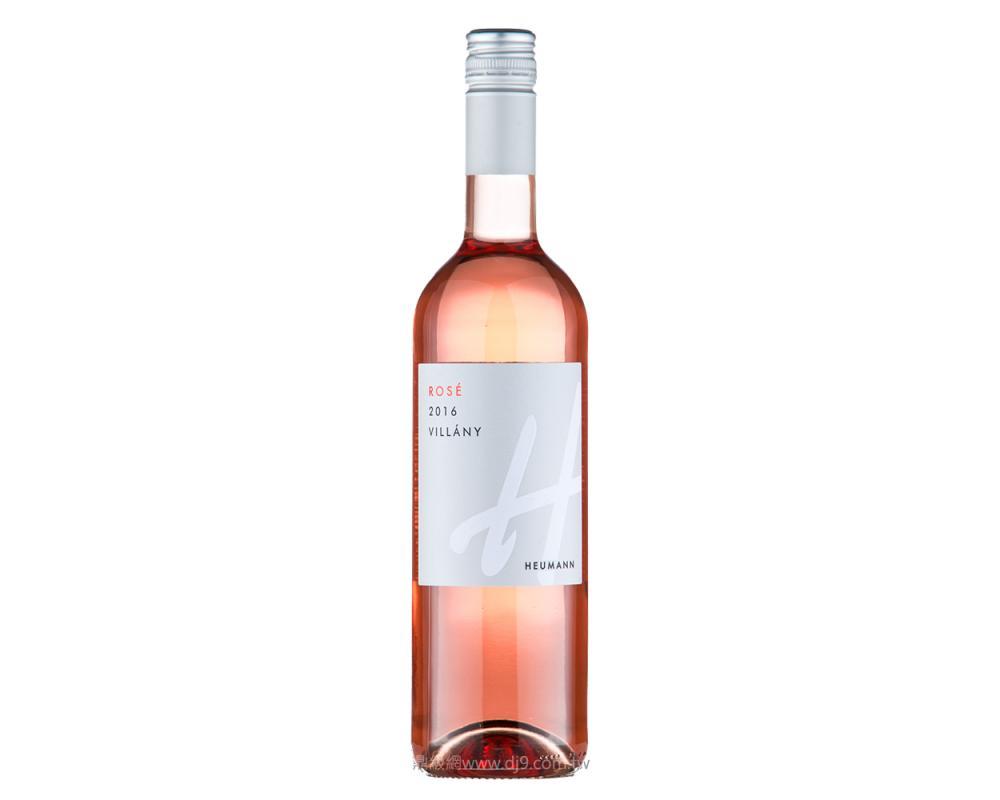 休曼粉紅酒2016