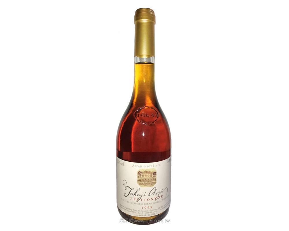茨山5P貴腐甜白酒1998