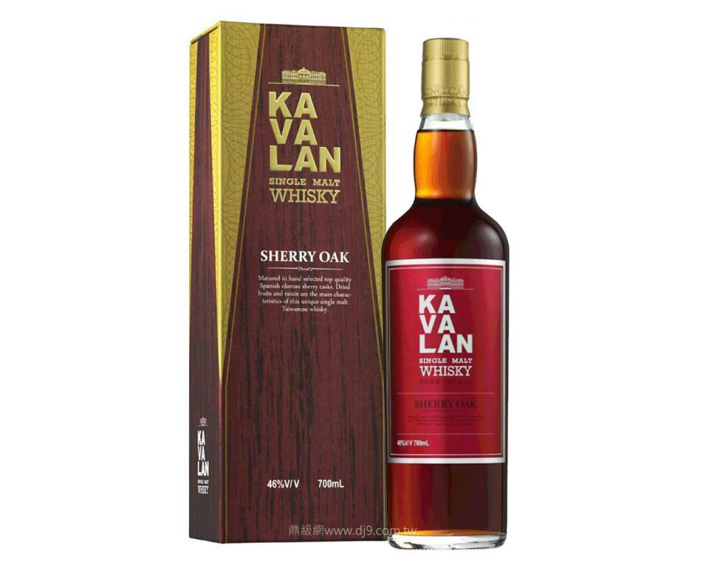 噶瑪蘭雪莉桶單一麥芽威士忌
