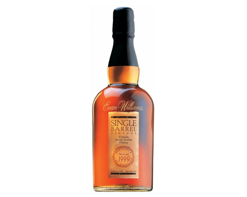 伊凡威廉1999單一桶裝波本威士忌