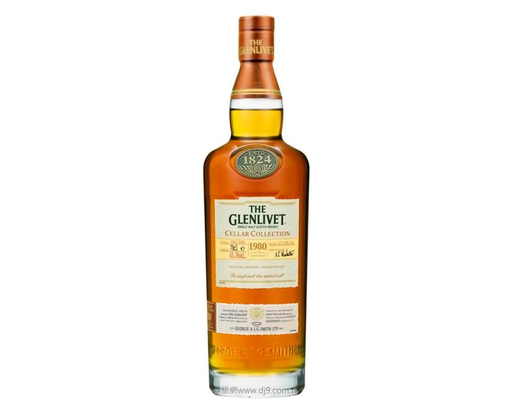 格蘭利威酒窖珍藏系列1980單一麥芽威士忌