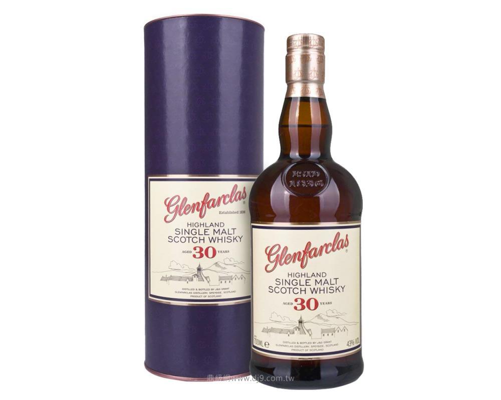 格蘭花格30年單一麥芽威士忌