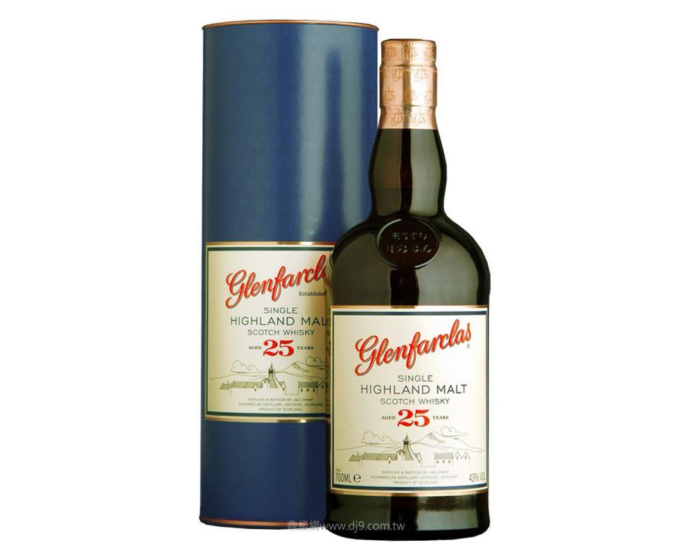 格蘭花格25年單一麥芽威士忌