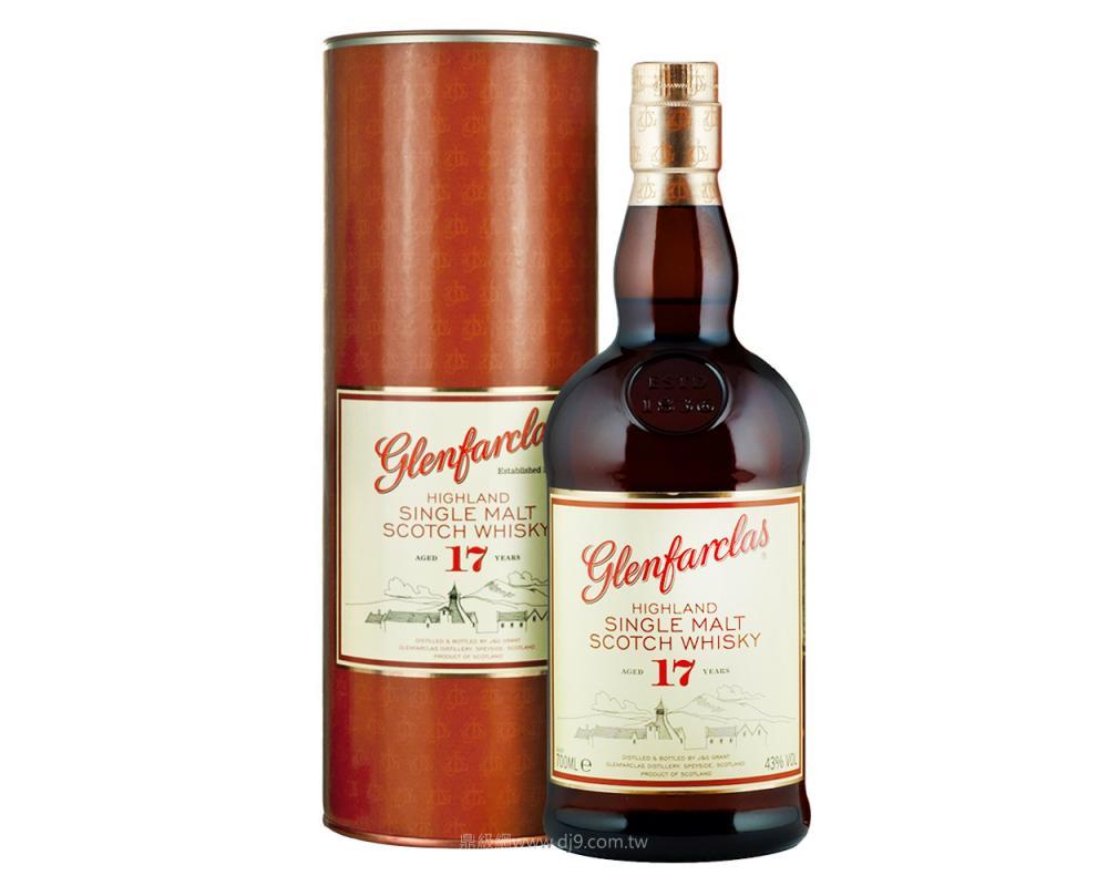 格蘭花格17年單一麥芽威士忌
