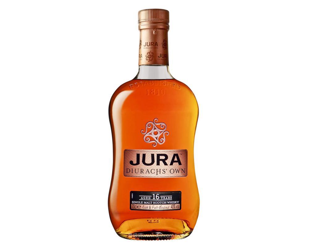 吉拉JURA 16年單一麥芽威士忌