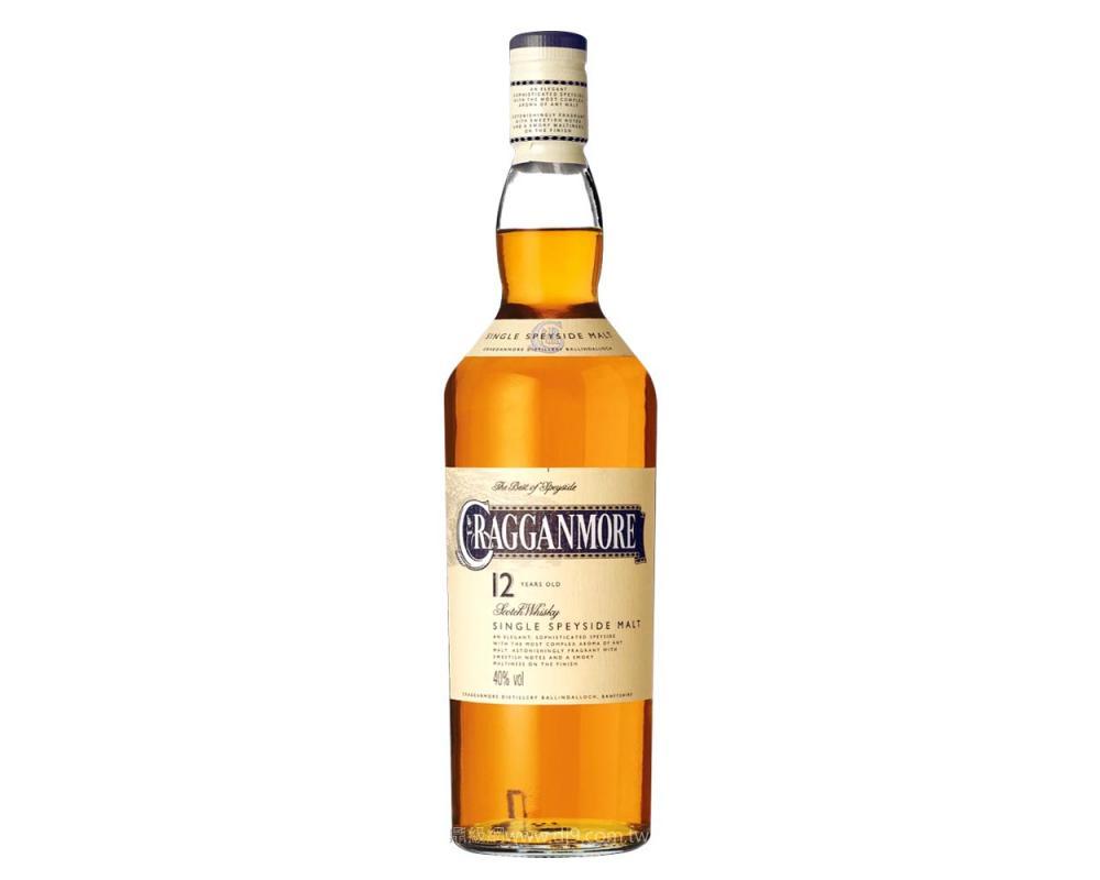 克拉格摩爾12年限量單一麥芽威士忌