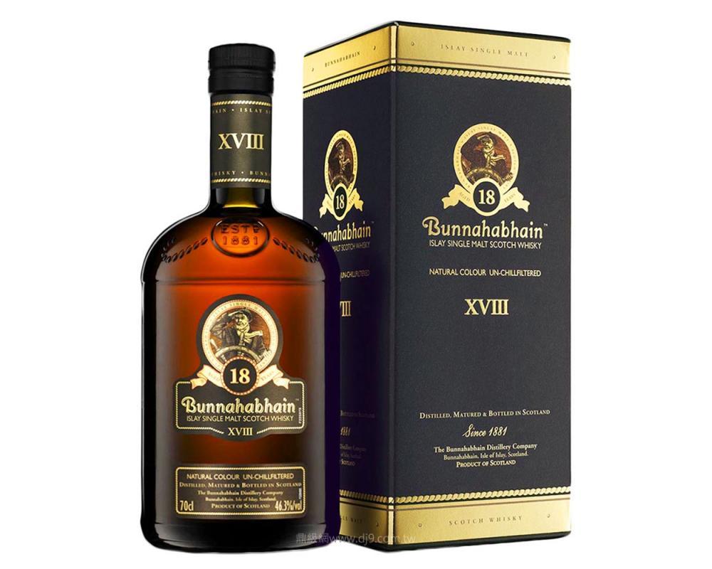 布納哈本18年單一麥芽威士忌