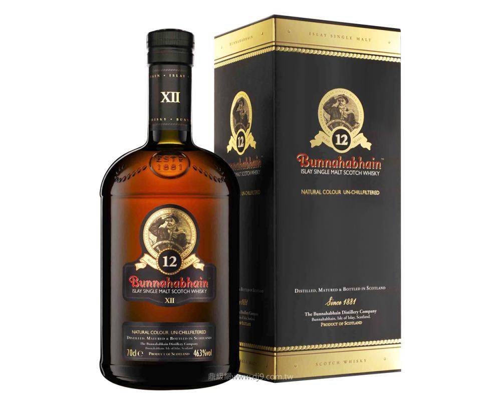 布納哈本12年單一麥芽威士忌