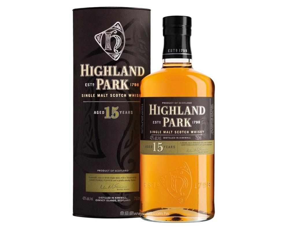 高原騎士15年單一麥芽威士忌