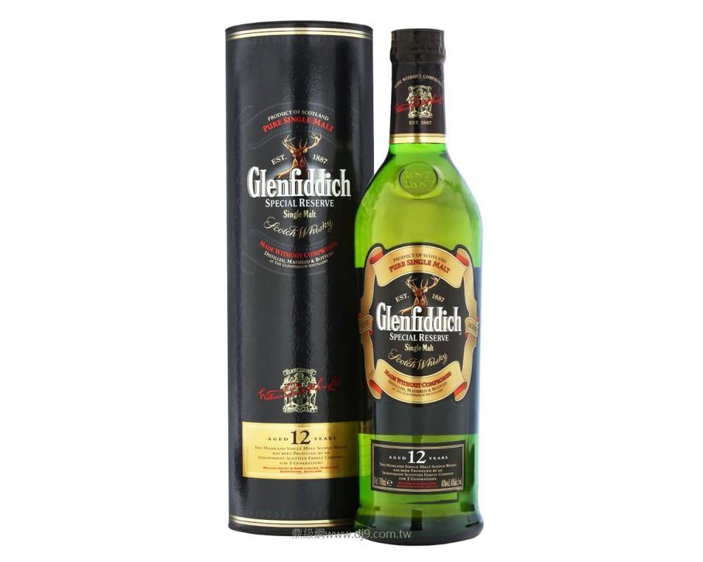格蘭菲迪12年單一純麥威士忌500ml