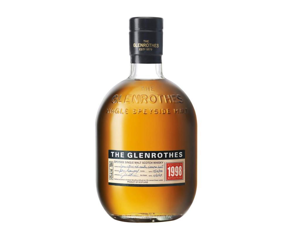 格蘭路思1998單一麥芽威士忌