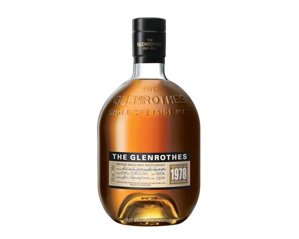 格蘭路思1978單一麥芽威士忌