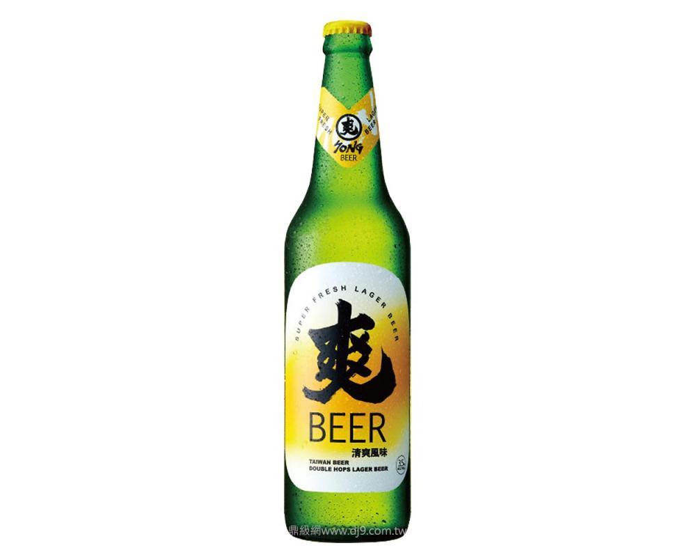 台灣爽啤酒(600mlx12瓶)