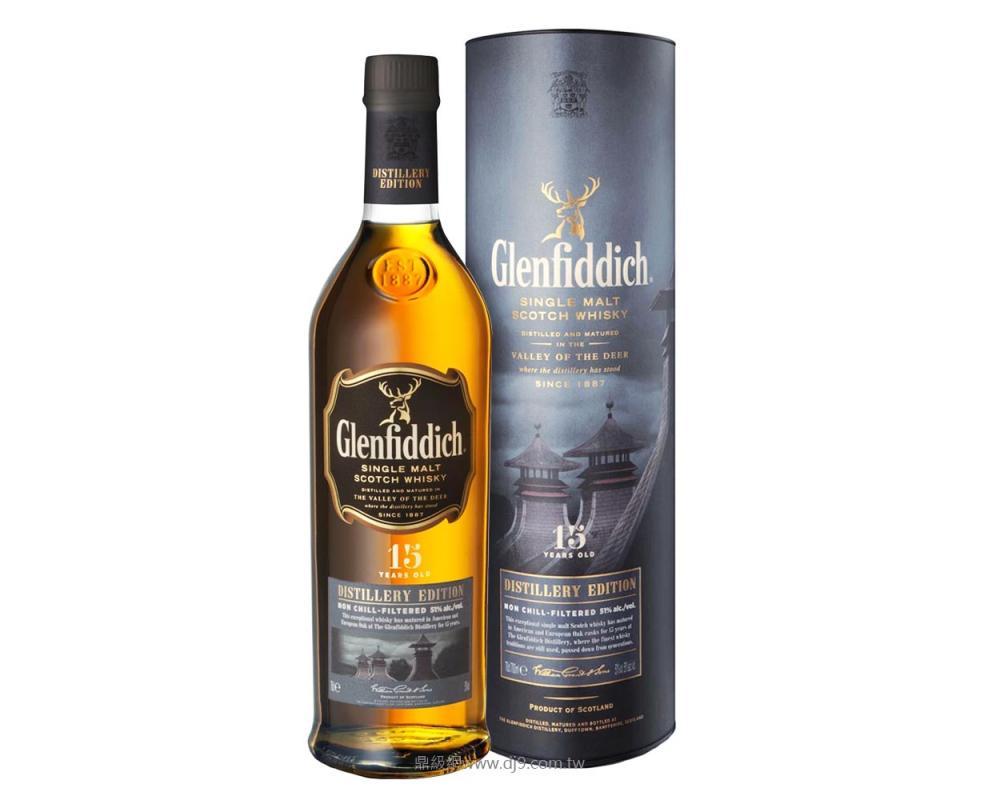 格蘭菲迪15年單一純麥威士忌2014(酒廠限定版)1L
