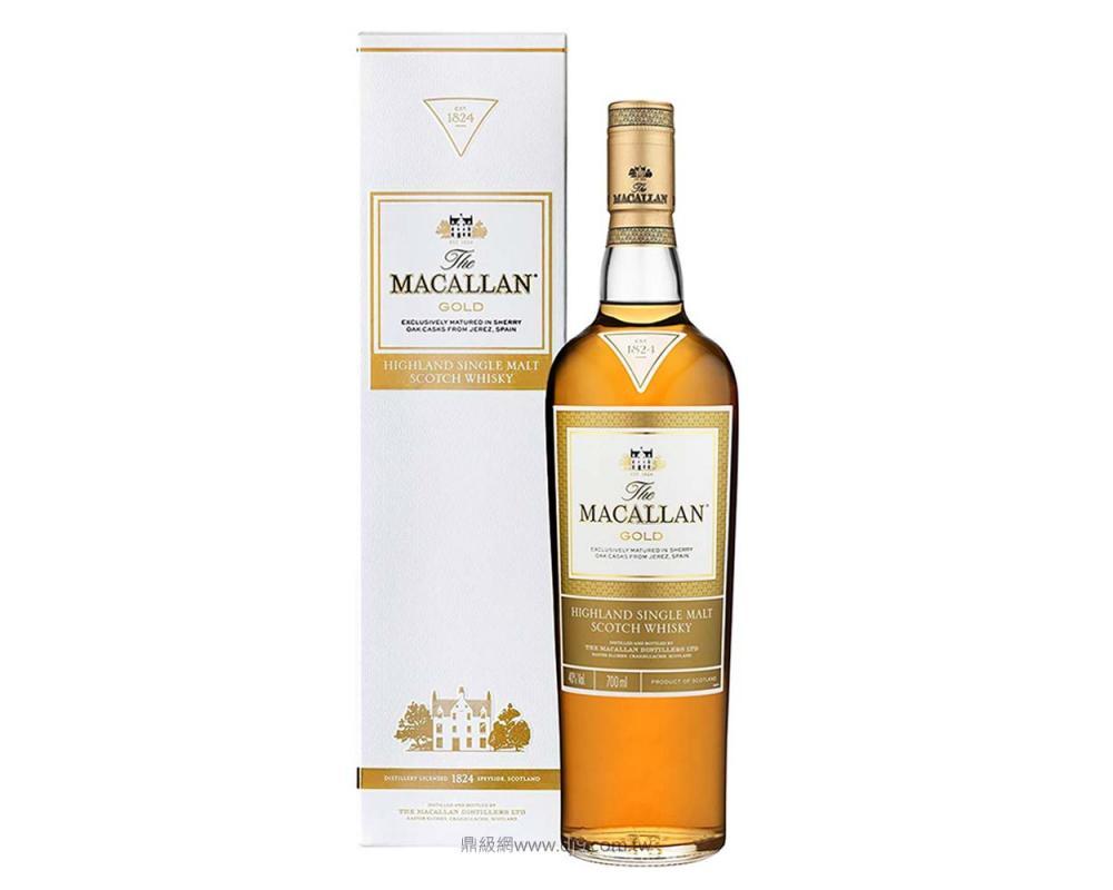 麥卡倫1824黃金單一純麥威士忌