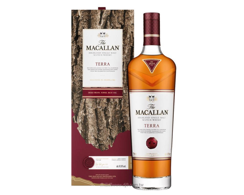 麥卡倫Terra赤木單一麥芽威士忌