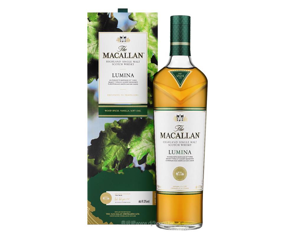 麥卡倫Lumina絢綠單一麥芽威士忌