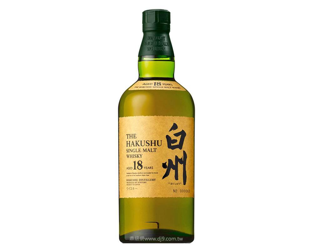 白州18年單一麥芽威士忌
