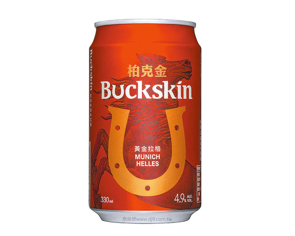 柏克金 黃金拉格啤酒(330mlx24罐)