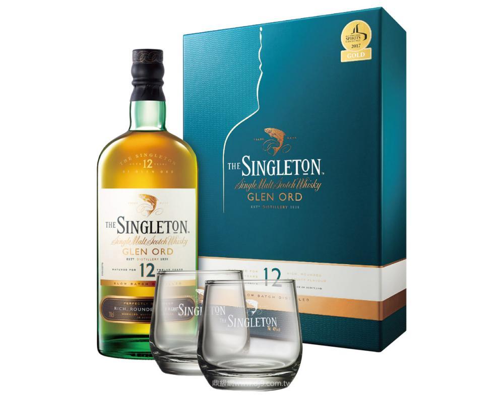 蘇格登12年單一純麥威士忌禮盒