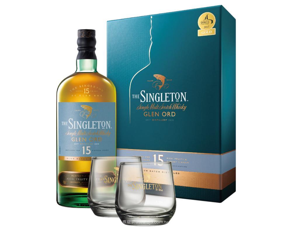 蘇格登15年單一純麥威士忌禮盒