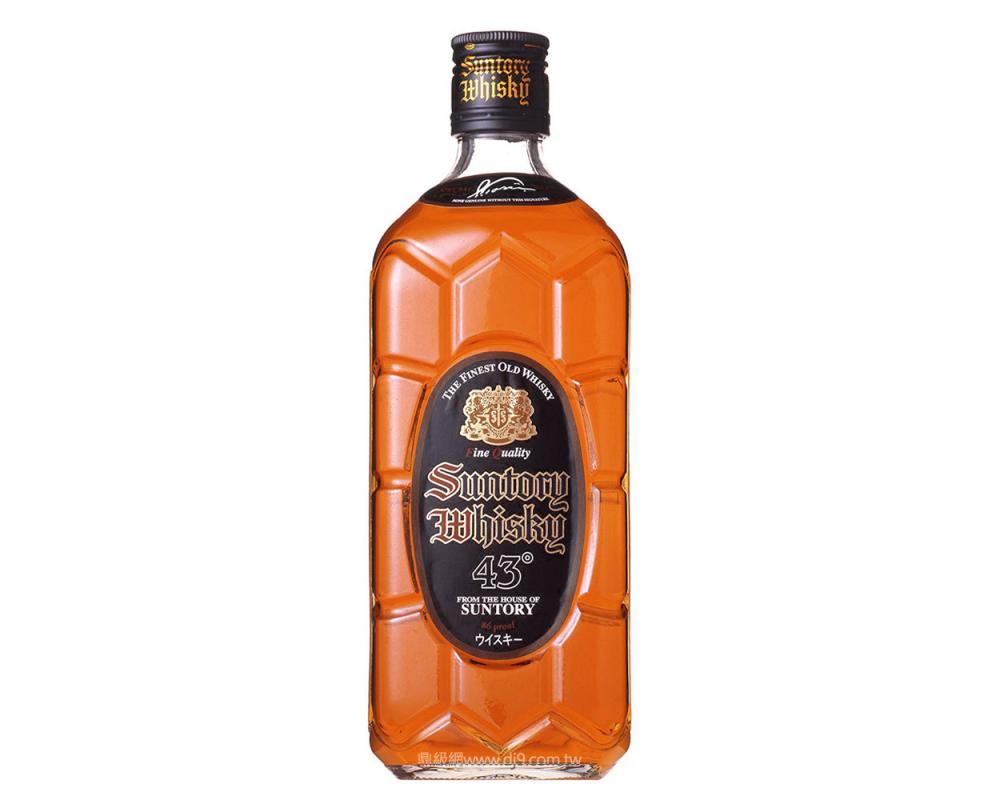 三得利黑角43°威士忌
