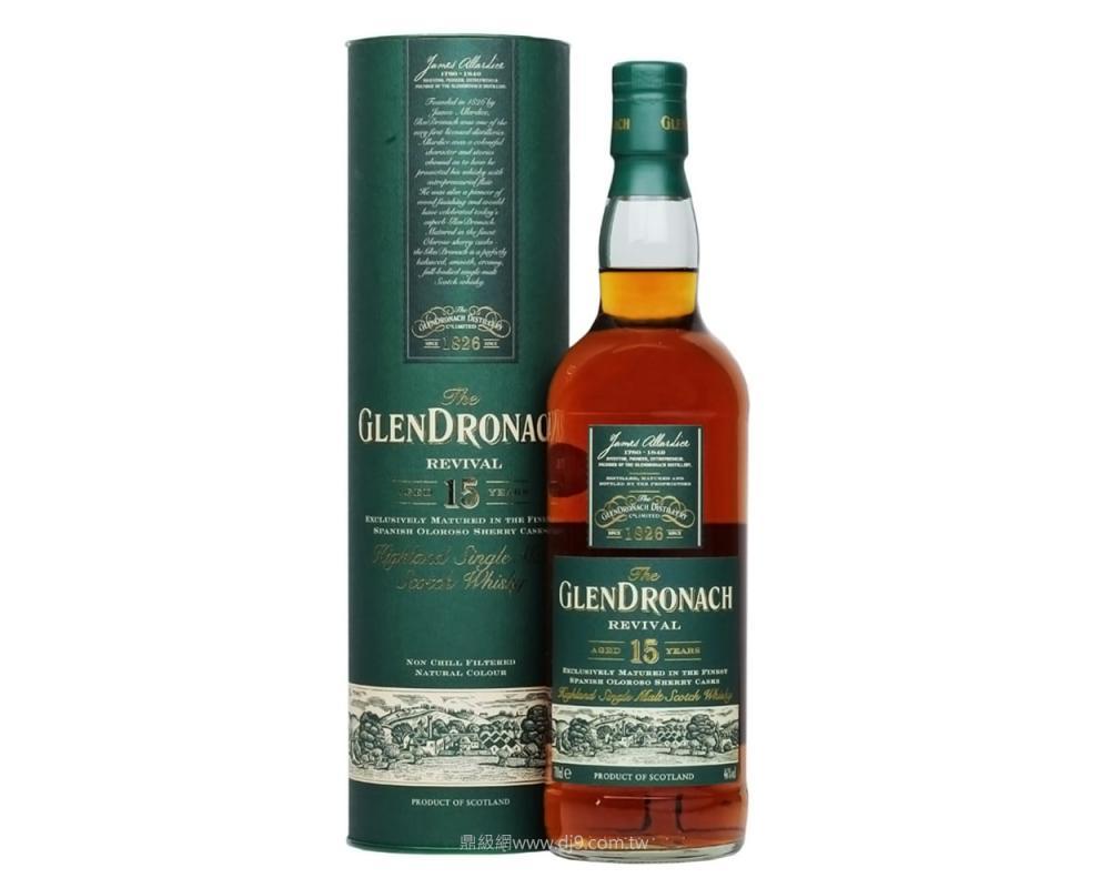 格蘭多納15年單一純麥威士忌(舊版)