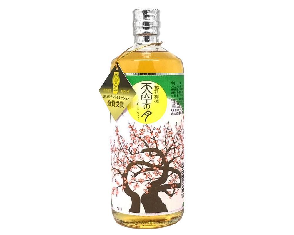 日本 天空之月樽熟梅酒.720ml