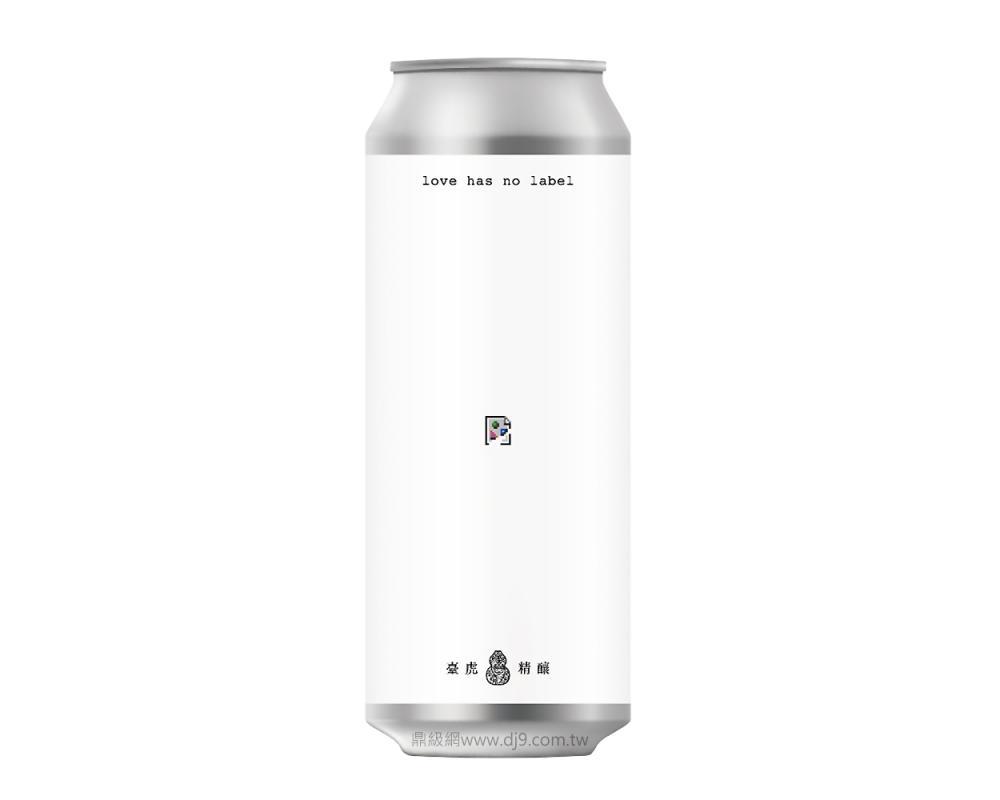 臺虎精釀啤酒-愛無標籤(500mlx24罐)
