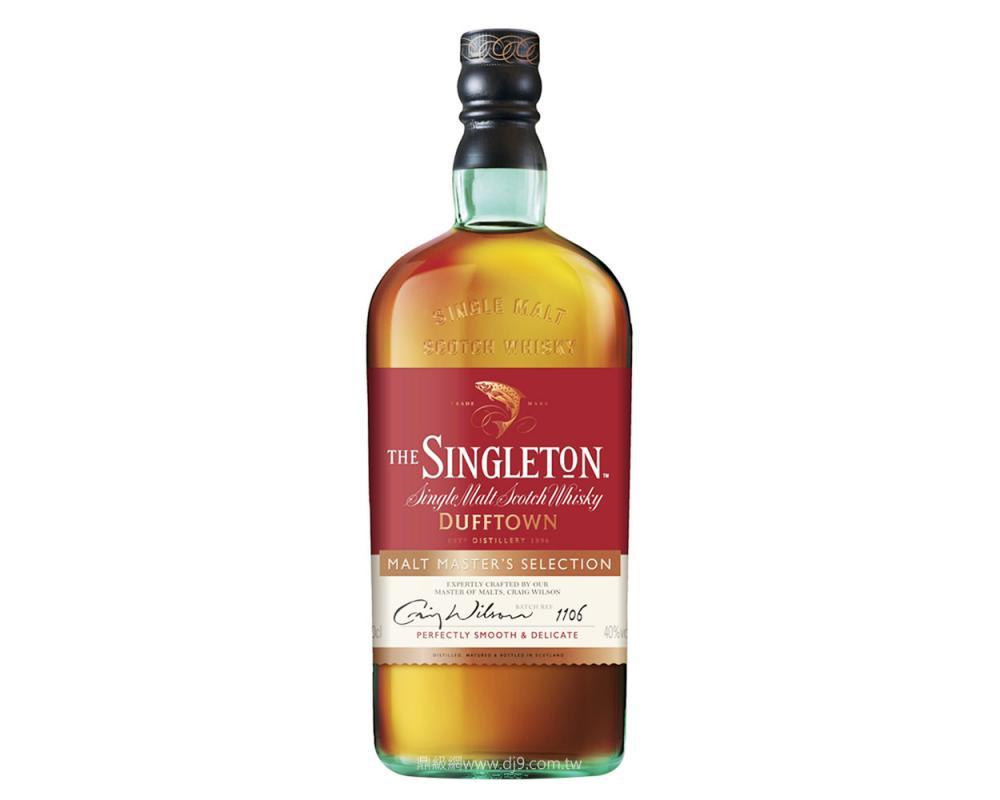 【箱購特價6入】蘇格登達夫鎮首席珍藏單一純麥威士忌1L