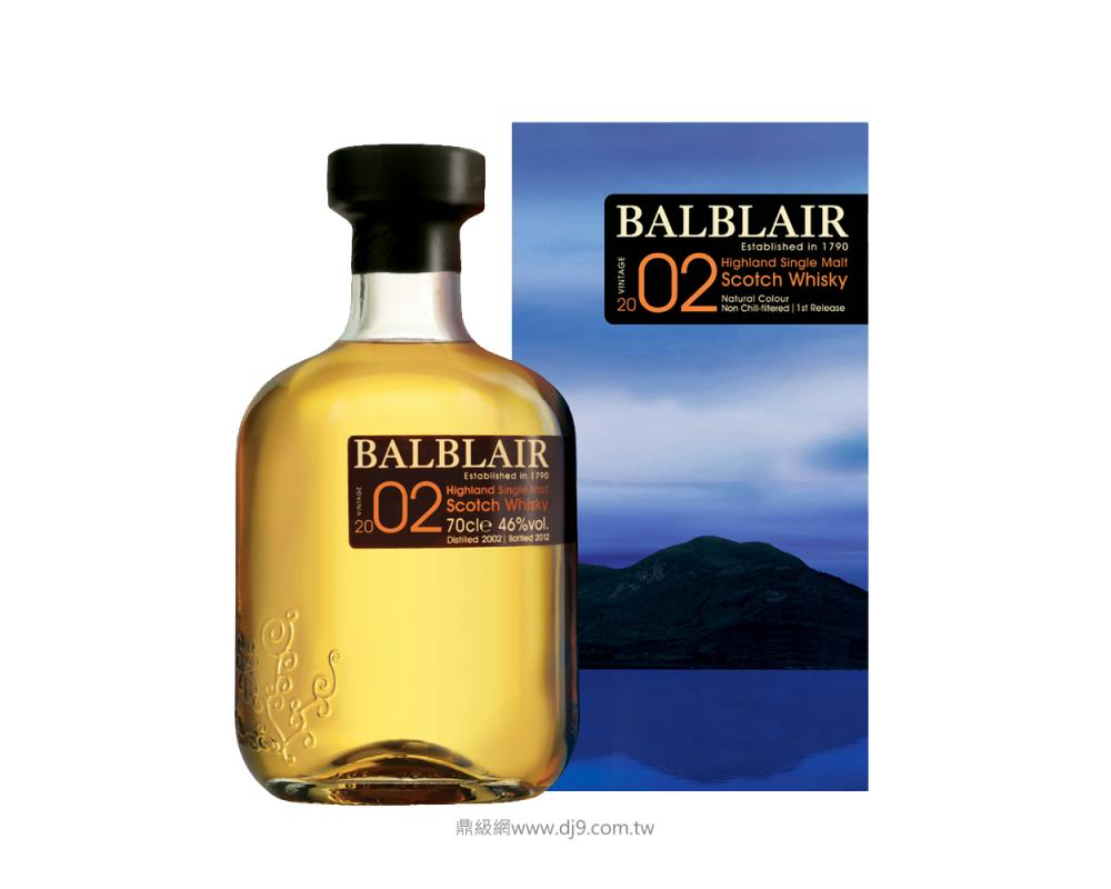 巴布萊爾2002單一麥芽威士忌