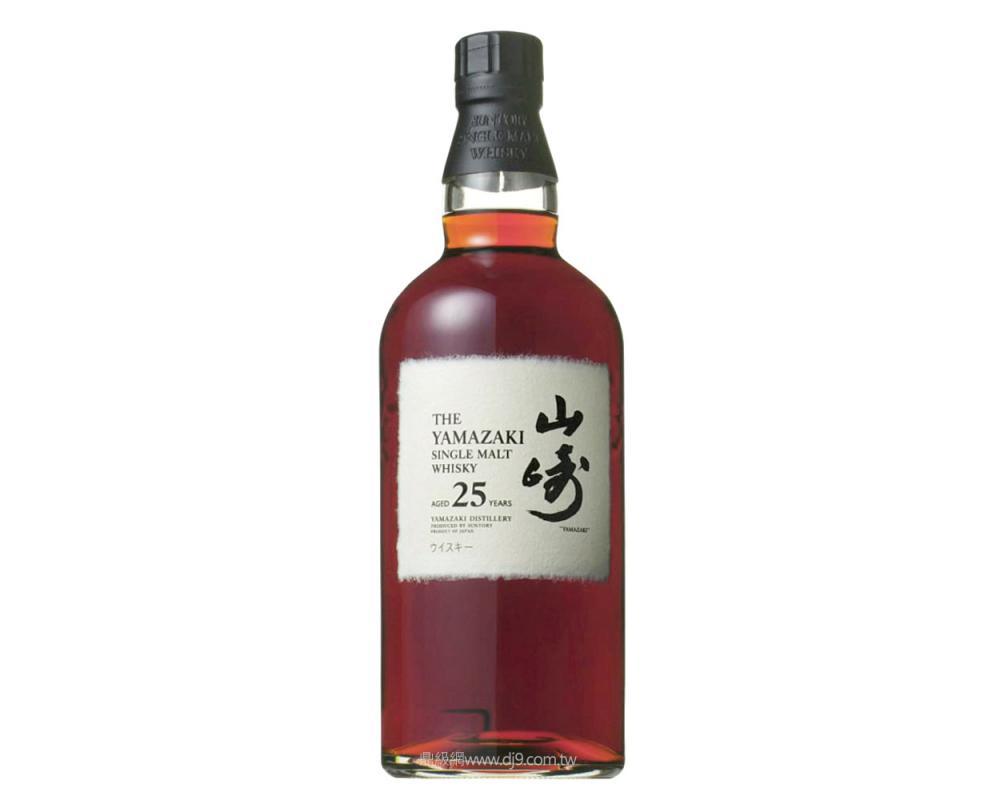 山崎25年單一麥芽威士忌