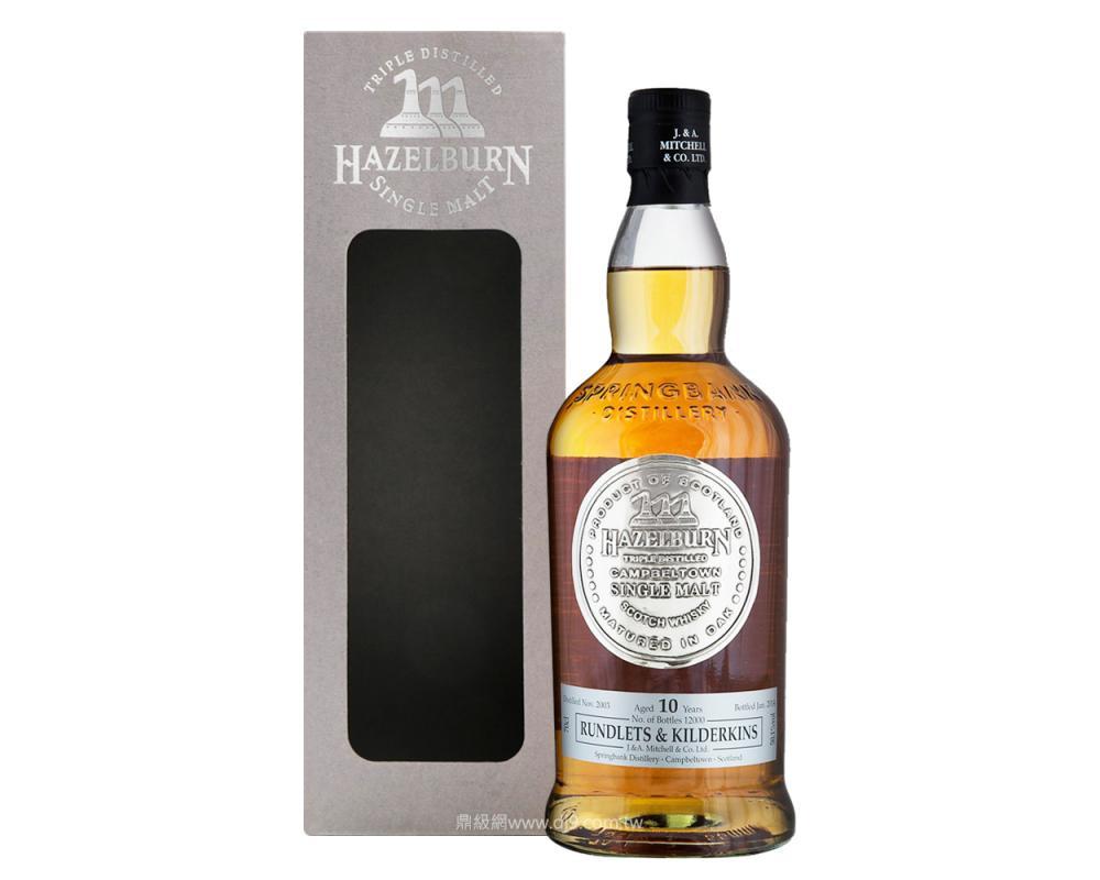 赫佐本10年單一純麥威士忌2003桶裝-限量版