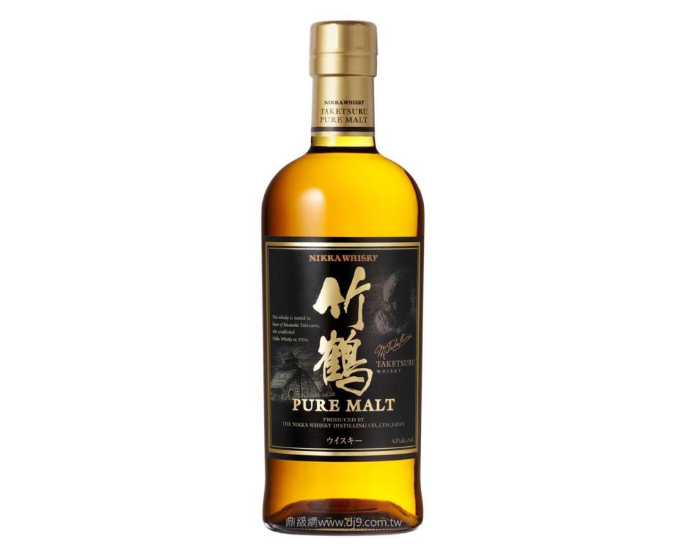 一甲竹鶴純麥威士忌