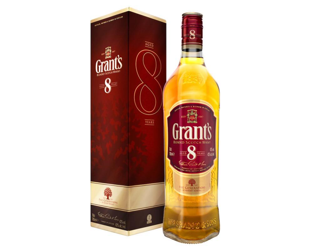 【箱購特價12入】格蘭8年調和威士忌