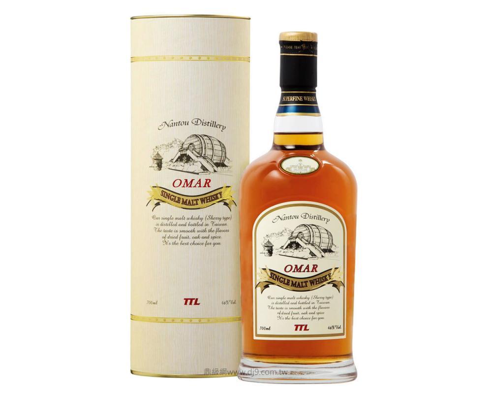 【箱購特價12入】Omar單一麥芽威士忌(波本花香)