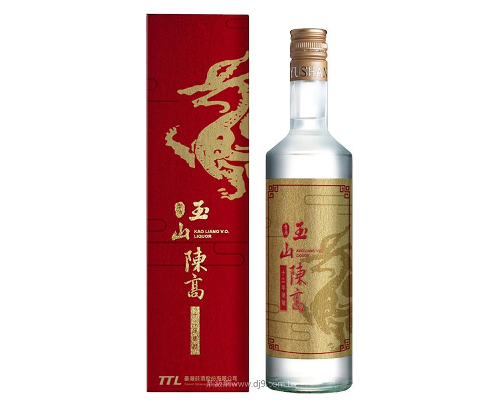 玉山12年甕藏陳年高粱-紅麒麟