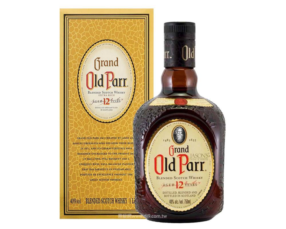 老伯12年調和威士忌