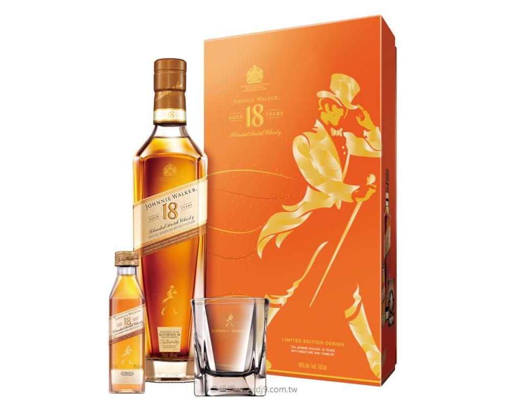 約翰走路18年威士忌禮盒(2019新春限定)