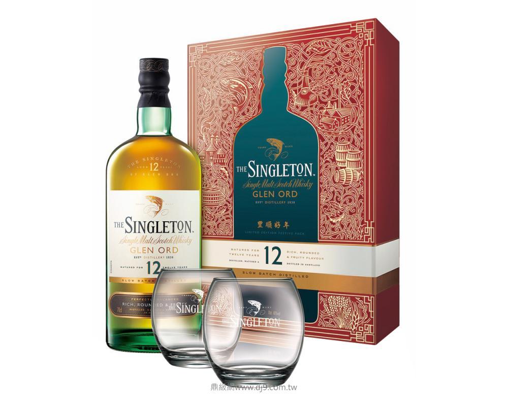 蘇格登12年威士忌禮盒(2019新春限定)