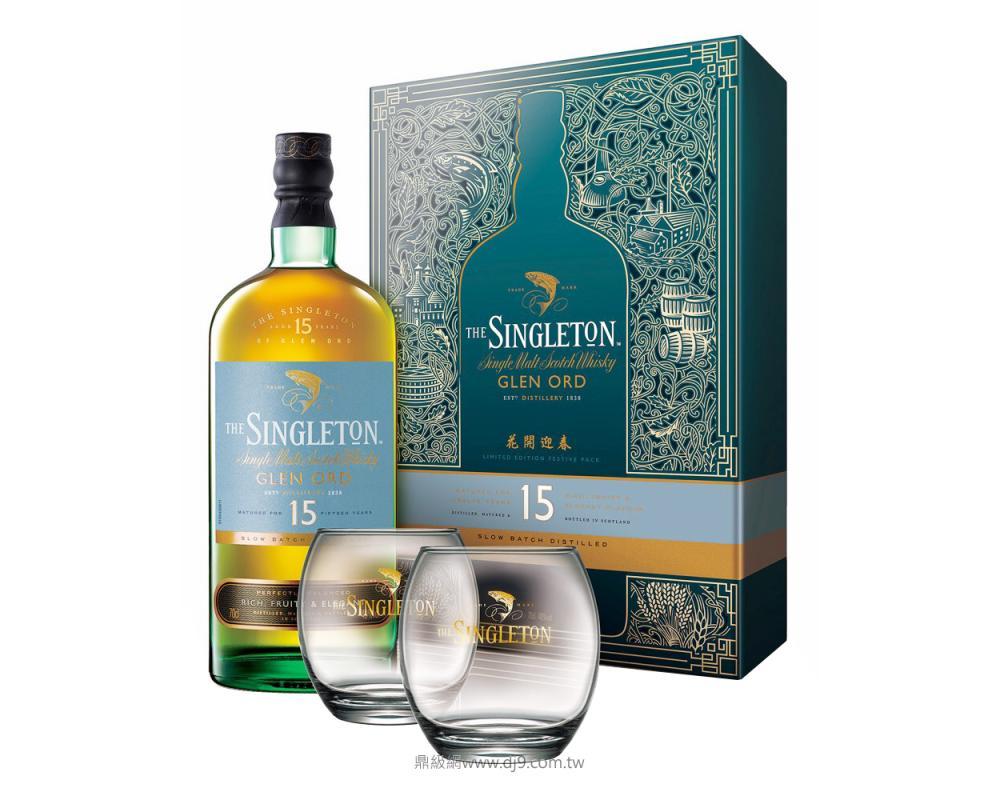 蘇格登15年威士忌禮盒(2019新春限定)