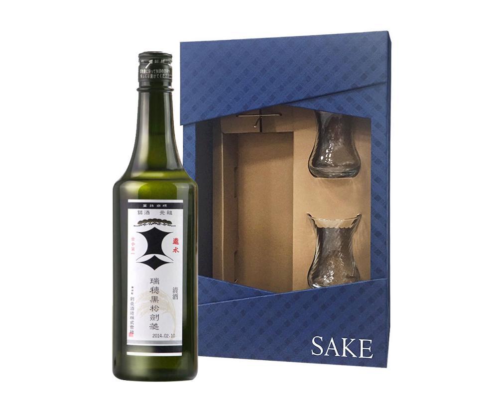 瑞穗黑松劍菱清酒禮盒