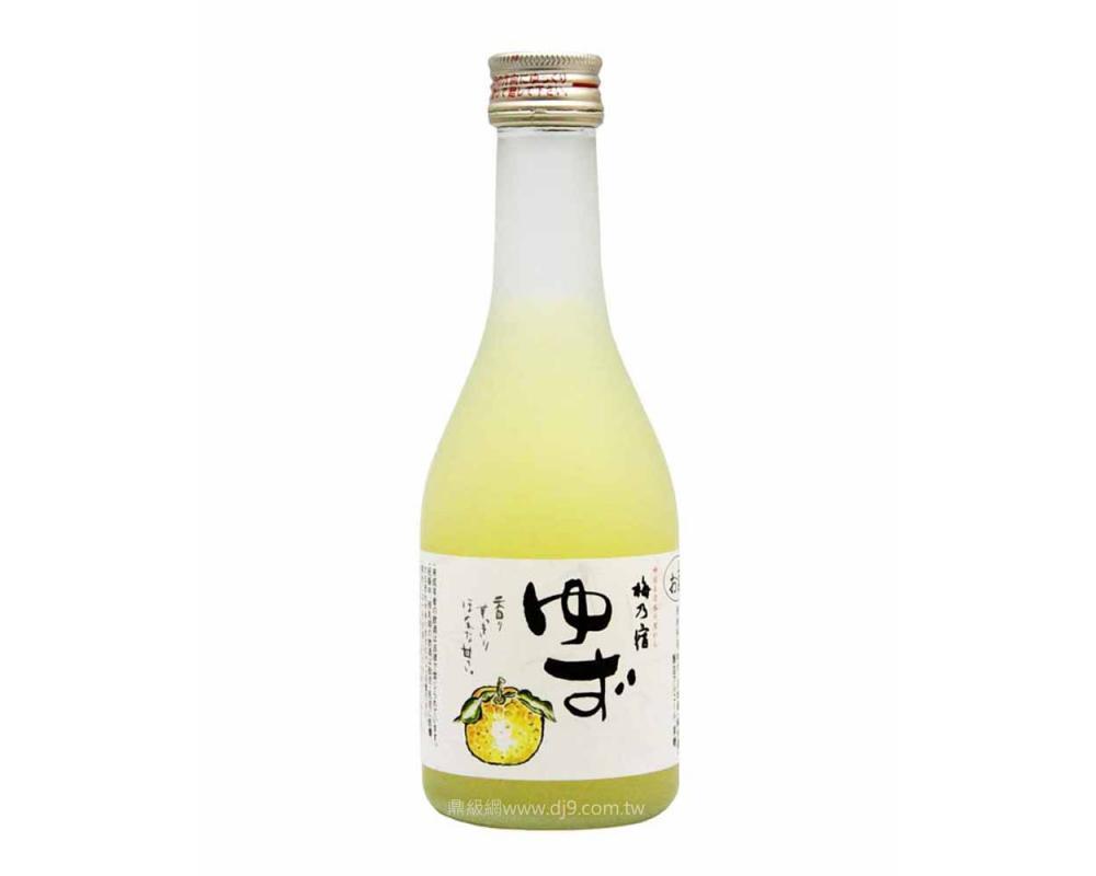 梅乃宿柚子酒300ml